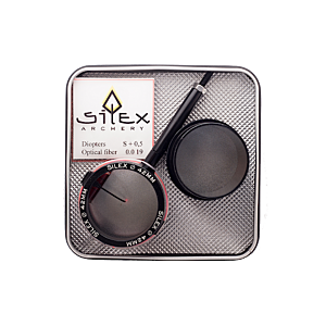 SILEX - SCOPE 42MM CON VISERA LENTE DE 0,75 6x
